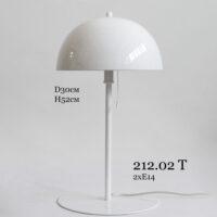 Настольная лампа с металлическим абажуром 212.02 Т