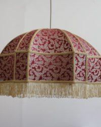 Ретро абажур Восток (цвет рубиновый)
