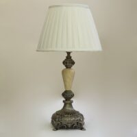 Настольная лампа с кремовым камнем 047.04 Т