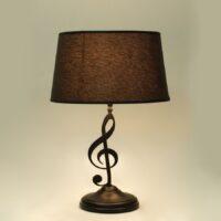 Лампа кабинетная с абажуром 215.01 Т Скрипичный ключ
