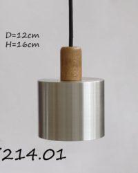 Подвесной металлический светильник П214.01