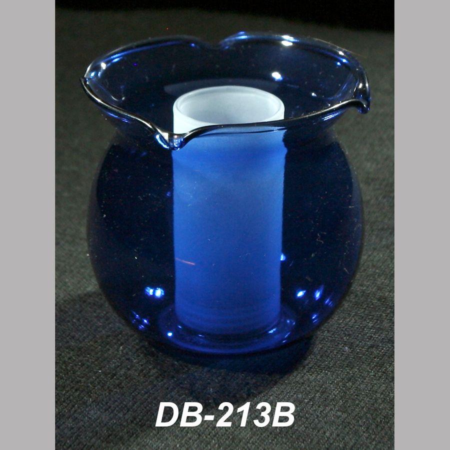 Плафон под патрон G9 синий DB-213B