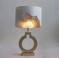 Необычная настольная лампа 115.01Т