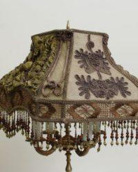 Абажур викторианский стиль №1 из ткани