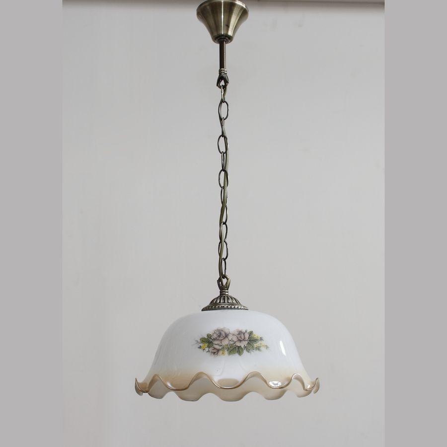 Стеклянный плафон для светильников B-F598