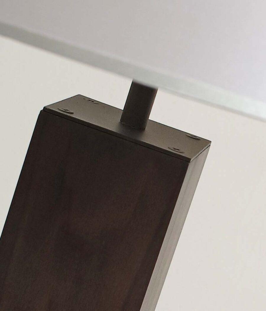 """Торшер деревянный с абажуром 094.2.45F дуб """"венге"""""""