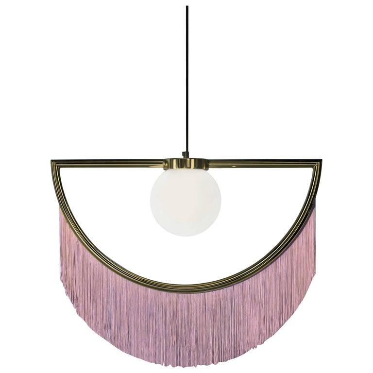Подвесной светильник с бахромой П233.01 Wink-Pink