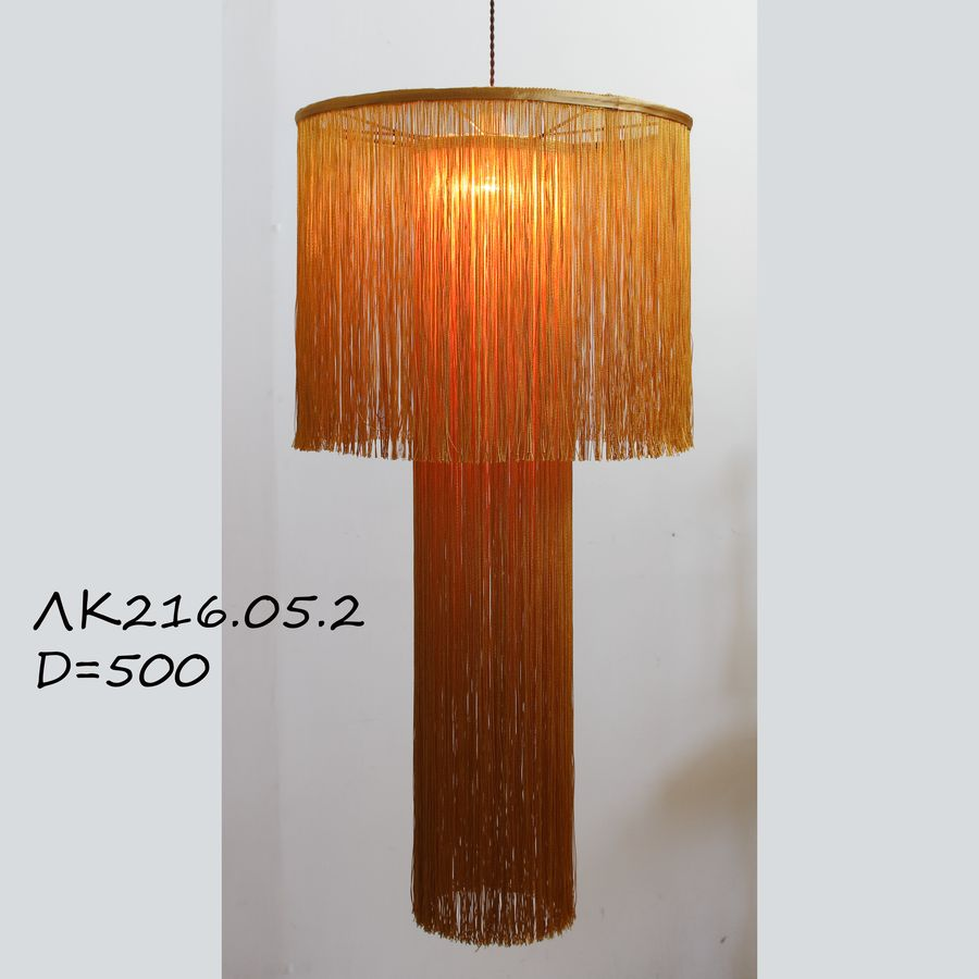 абажур подвесной с бахромой ЛК216.05-2-500 Каскад