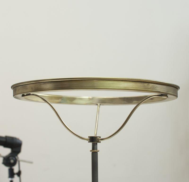 Металлическое кольцо для зеленого плафона D260мм латунь